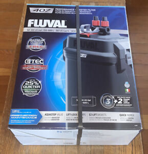 Fluval 407 Performance Aquarium Canister Filter - Up To 100 Gallon - #A449 - NEW