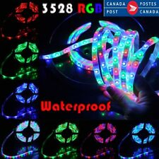 5M  Led Strip 3528 Flexible 300L SMD 3528 RGB 5M /16.4ft, Lights Waterproof 12V
