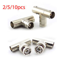 BNC Male To Dual Female 3 way Female Connector Adaptor CCTV Camera DVR Splitter