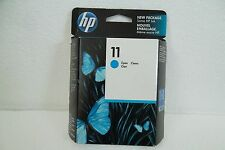 HP 11 Cyan Ink Cartridge 2350-Pages 9120 815MFP 800ps 70 1000dt C4836A OEM NEW