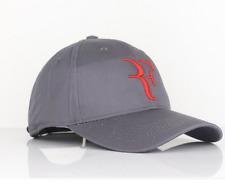 2017 RF Roger Federer GRAY Hat Cap - Rare Litmited Edition Adjustable Tennis Hat