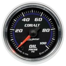 """Auto Meter Gauge Cobalt 2-1/16"""" Oil Pressure AU6153"""