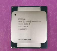 Intel Xeon E5-2685 v3 QS 2.6GHz 12-Core 30M Processor LGA2011-3 R3 120W CPU