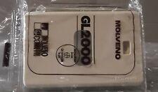 [E] Placche in resina colore avorio 1 foro per serie GL2000 Molveno - 5 pezzi