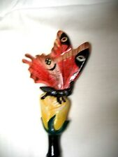HAND PAINTED BUTTERFLY BACK SCRATCHER #4- GREAT GIFT FOR HOLIDAY SEASON-UNIQUE!!