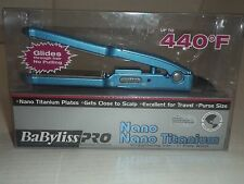BaByliss PRO Nano Titanium Mini Straightening Iron (1 inch)Excellent for Travel