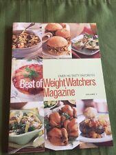 BEST OF WEIGHT WATCHERS MAGAZINE book Cookbook diet healthy cooking Point recipe