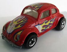 Vintage Rare 1988 Hot Wheels Vw Volkswagen Beetle Bug - Red with Flames Malaysia