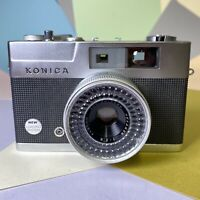 KONICA EEmatic S 35mm Rangefinder Camera W/ Hexanon 2.8 40mm Lens Lomo, Retro