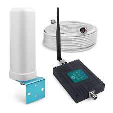 900/1800/2100MHz Signal Repeater 70dB Gain Amplifier Antenna Suit for Band 8/3/1