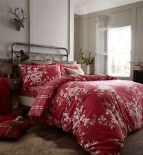 Linge de lit et ensembles rouge pour cuisine, en 100% coton