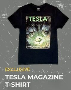 "FALLOUT 'TESLA MAGAZINE T-SHIRT' Size 3XL ""Rad!"" LootCrate Gaming Exclusive"