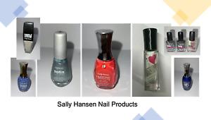 Sally Hansen Cuticle Oil, Top Coat & Nail Polish *PICK shades ~ BIG Discount*
