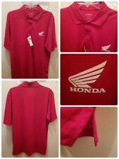 NWT Honda Big Wing Polo Size Large Motorcycle Motocross North End