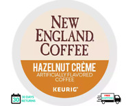 New England Hazelnut Cream Keurig Coffee K-cups YOU PICK THE SIZE