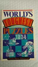 World's Toughest Puzzles by Charles B. Townsend (1991, Paperback)
