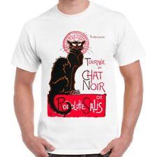 Le Chat Noir Theophile Steinlen Vintage Poster Retro T Shirt 1216