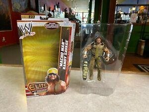 Wrestling WWE Elite Flashback MACHO MAN RANDY SAVAGE Series 23 Action Figure