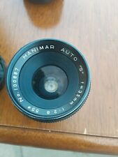 HANIMAR AUTO LENS 35mm 1:2.8 for M42 mount. Comes with caps