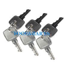 (6) Keys for John Deere 644C 844K 944K 444D 544D 644D 644H 304H 744J 544J 644J