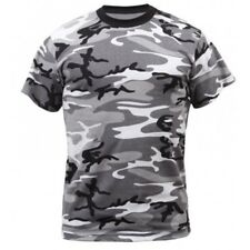 New Urban Camouflage Military Army Combat Paintball Cotton T-Shirt XSmall