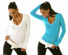 Acrylic V Neck None Jumpers & Cardigans for Women