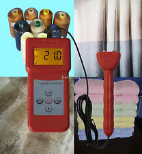 MS-C Textile Moisture Meter for Measuring Moisture Content of Textile Materials