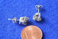 Diamant(Roh) Ohrstecker 925 Silber M-0656/M