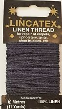 NAVY STRONG LINEN THREAD Lincatex For All Types Of Heavy Duty Mending