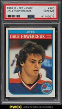 1982 O-Pee-Chee Hockey Dale Hawerchuk ROOKIE RC #380 PSA 10 GEM MINT