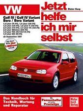 REPARATURANLEITUNG JETZT HELFE ICH MIR SELBST 211 VW VOLKSWAGEN GOLF IV 4 BORA