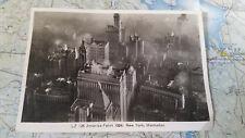 LZ 126 Amerika Fahrt 1924 New York Manhattan Postkarte 4218