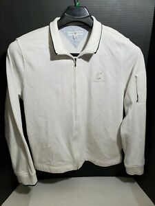 Tommy Hilfiger Mens Large Long Sleeve Golf Jacket TPC The Canyons White