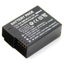 Battery for Panasonic DMW-BLC12 DMW-BLC12E DMW-BLC12PP DE-A80A DE-A79B DMW-BTC6