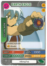 H 59 Earth Eagle - DeAGOSTINI Beyblade Battle Card Collection 2011 (6)