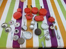 A8 jouet IMPORTANT LOT de dinette alu aluminium deco poupée poupon ancienne