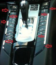 D Porsche 970 Panamera Chrom Streben für Mittelkonsole Edelstahl poliert