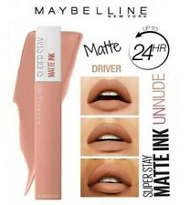 MAYBELLINE Superstay Matte Ink Pintalabios Mate Liquido Lipstick 55 Driver