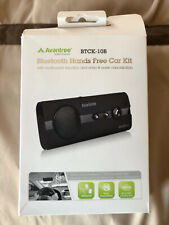 New! Avantree Btck-10B Bluetooth Hands Free Wireless Car Kit Open Box
