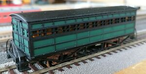The John Bull Authentic HO-scale Coach, Green 3pcs New from old inventory