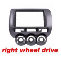 Car Radio Fascia for Honda Jazz Stereo Panel Dash Install Trim Kit One Din Facia