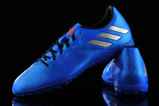 Adidas Messi 16.4 TF Turf Shoes Blue Men Adult Boots Cleats S79658 Soccer 8