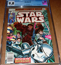 Star Wars #3 CGC 9.8 Marvel 1977 1st print Princess Leia Han Solo Luke Skywalker
