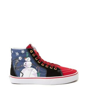 NEW Vans x The Nightmare Before Christmas Sk8 Hi Christmastown shoe sneaker mens