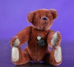 Hermann Miniature Teddy Bear Red