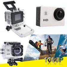 Helmet 1080P HD 12MP Waterproof Sport Action Video Camera DV Camcorder Silver BS