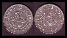 ★★ BOLIVIE ● 50 CENTAVOS 1987 ● E14 ★★