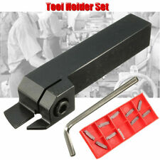 MGEHR1616-2 Parting Off Turning Tool Holder+10X MGMN200 Carbide Insert LatheTool