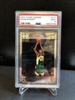 2007 Topps Chrome Kevin Durant ROOKIE RC #131 PSA 9 MINT