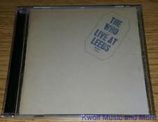 """THE WHO  """"Live At Leeds""""   NEW   (CD, 1970/1995)"""